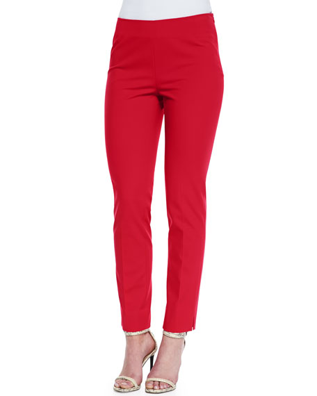 Lafayette 148 New York Stanton Cropped Ankle Pants, Dynamite