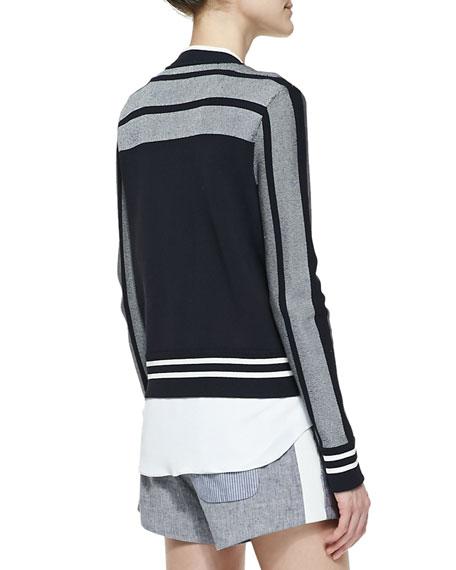 Sammi Jersey Zip-Front Jacket