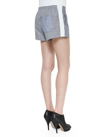 Nesi Side-Stripe Shorts