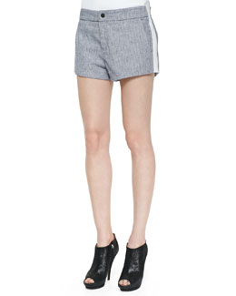 Rag & Bone Nesi Side-Stripe Shorts