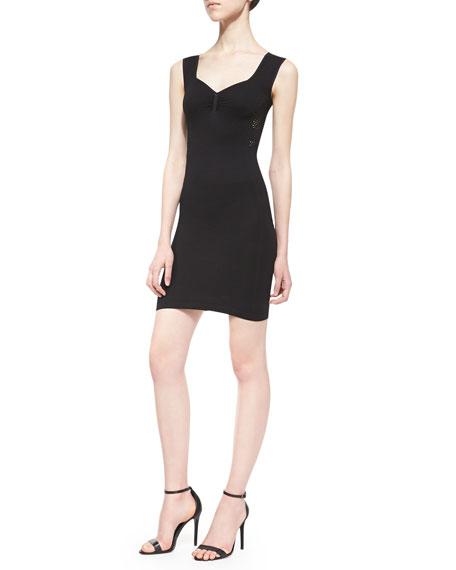 Bella Coachella Slip Dress, Black