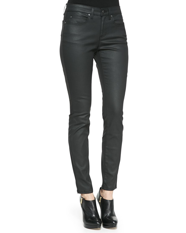 0a181de8f5b Eileen Fisher Waxed Stretch Skinny Jeans