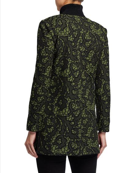 Misook Tapestry Long Jacket