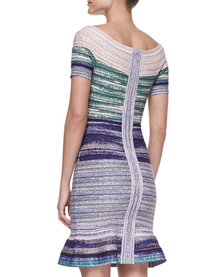 Off-The-Shoulder Bandage Dress