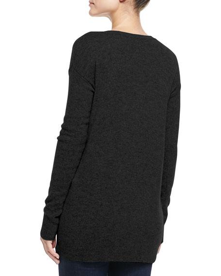 Christopher Fischer Susie Zip-Body Cashmere Sweater