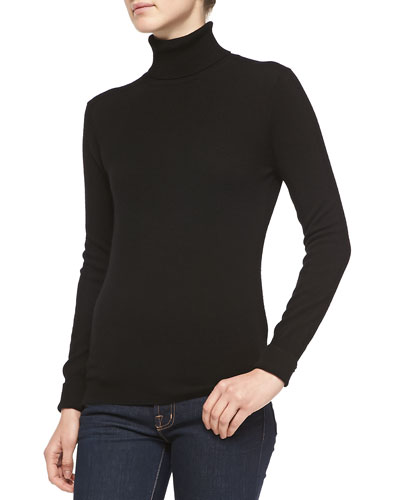 Neiman Marcus Cashmere Turtleneck Sweater, Women's