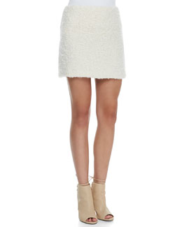 Alice + Olivia Neville Clean Fitted Miniskirt