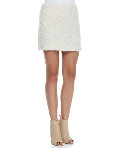 Alice + Olivia Neville Clean Fitted Miniskirt