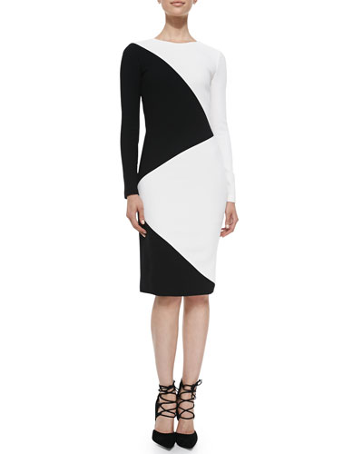 Raoul Mika Diagonal Pencil Dress