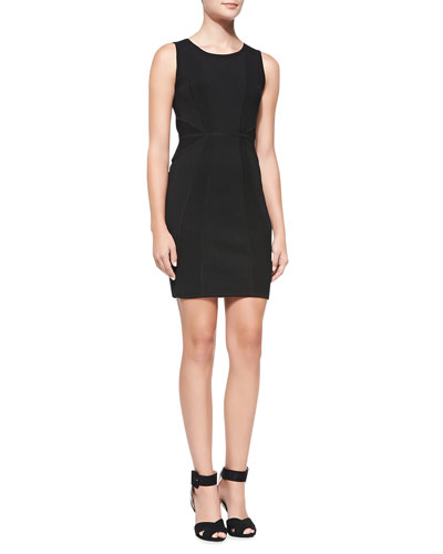 Milly Textured Knit Sheath Dress