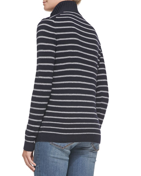 Giselle Striped Knit Sweater