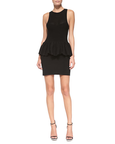 sass & bide Bumper Issue Peplum Sheath Dress