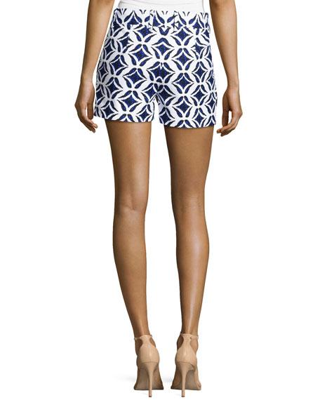 Naples Shorts, Ikat Batik Catalina