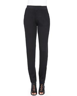 Nanette Lepore Sweater Knit Track Pants