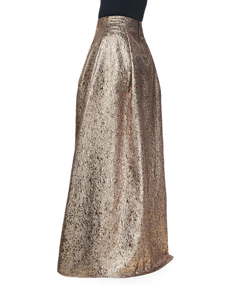Margarete Metallic Ball Skirt