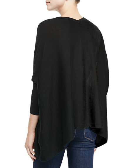 Silky Long-Sleeve Tunic