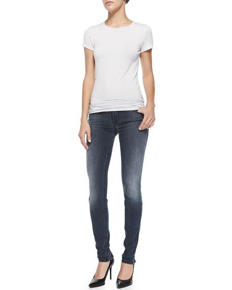 Kamila Crush Zip-Back Skinny Jeans