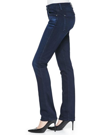 The Modern Straight Leg Jeans, Pristine Blue Black