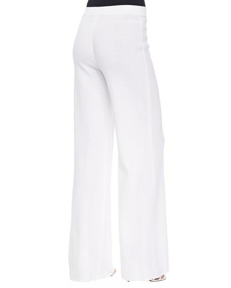 Washable Wide-Leg Pants, Plus Size