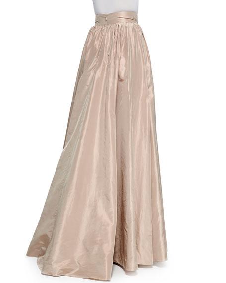 Full Wide-Waist Ball Skirt