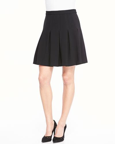 Gemma Mini Skirt W/ Godets
