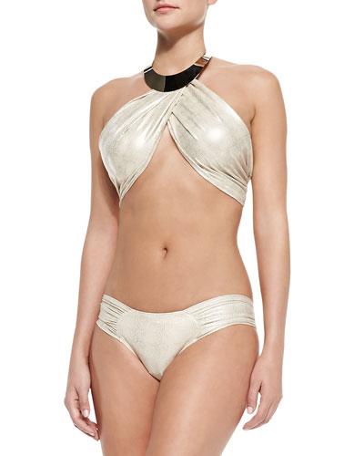 Sally Shimmery Hardware Bikini