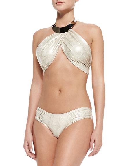 OYE Swimwear Sally Shimmery Hardware Bikini