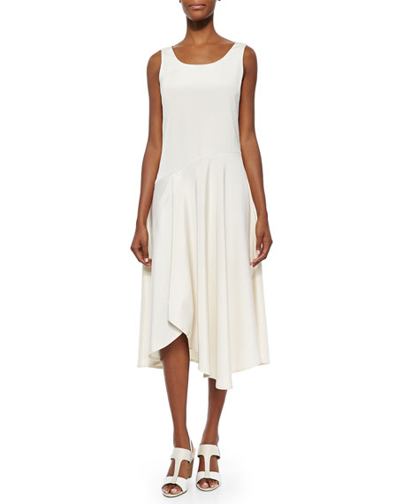 Lafayette 148 New York Evalyn Sleeveless Bias Dress,
