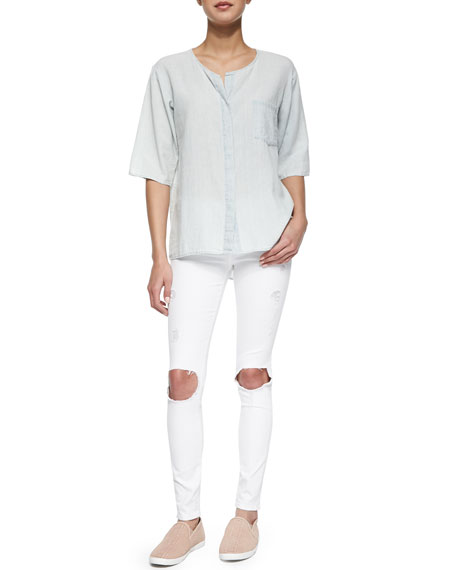 Le Color Destroy Skinny-Fit Jeans