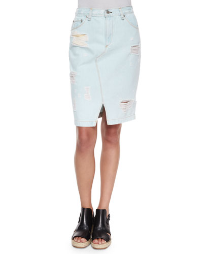The Denim Skirt, Norte