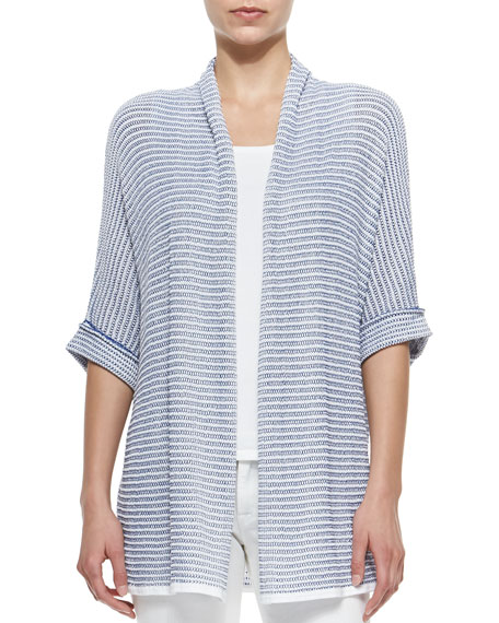 Belford Oversized Half-Sleeve Open Cardigan