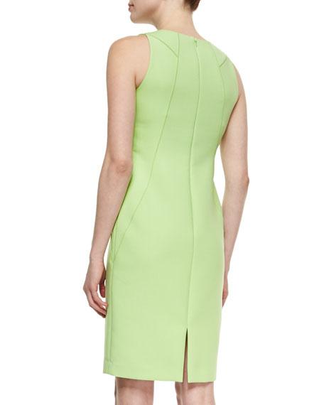 Alora Eloquent Cloth Sheath Dress