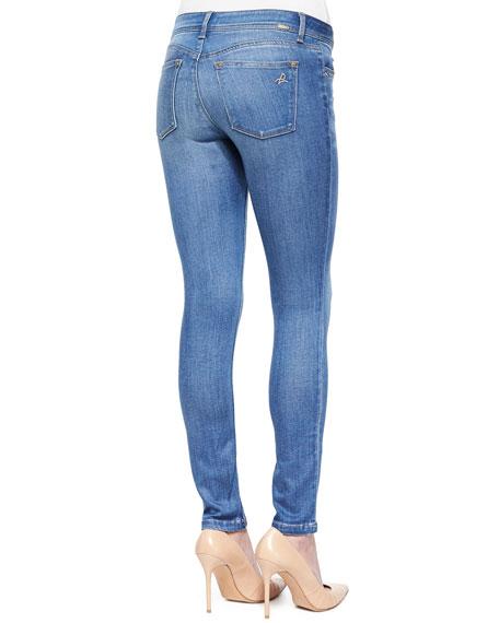 Emma Faded Denim Skinny Jeans