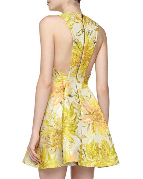 Tanner Colorblock V-Neck Loose Dress