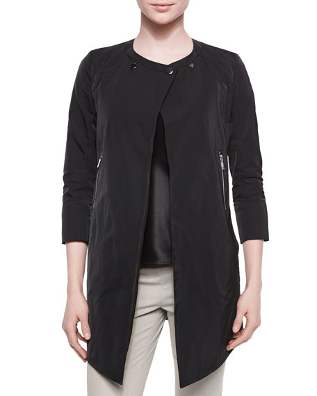 Lafayette 148 New York Shelby Chic Outerwear Topper