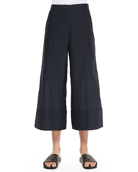 Risto Novara Cuffed Wide-Leg Pants