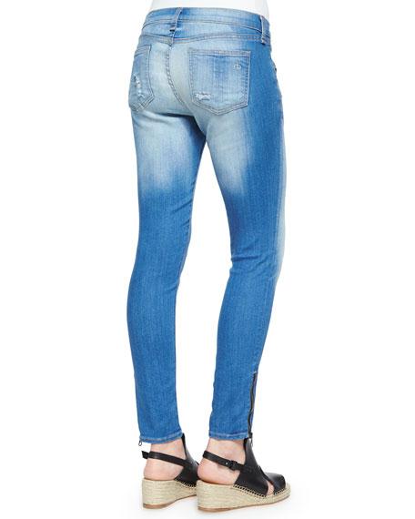 RBW 23 Kilbowie Distressed Zip Skinny Jeans