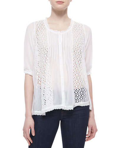 Siore Princess Eyelet Blouse