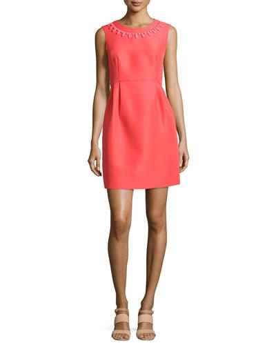 sleeveless embellished mindy dress