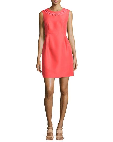 kate spade new york sleeveless embellished mindy dress