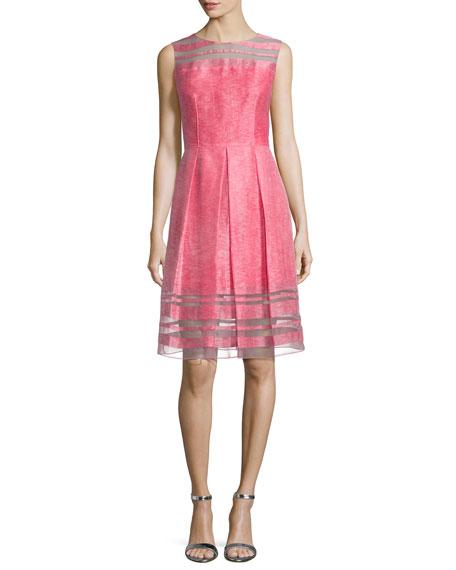 Daisy Sleeveless Fit & Flare Dress