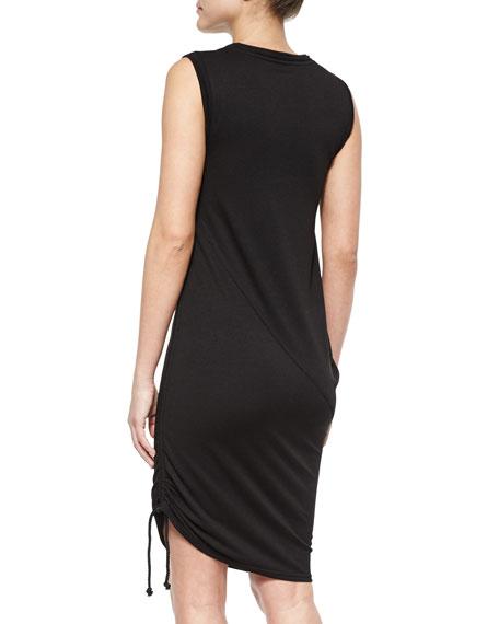 Asymmetric Drape Dress: Tahari Woman Nadia Asymmetric Draped Dress