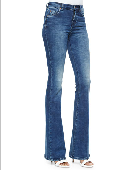 Marrakech Flare-Leg Denim Jeans