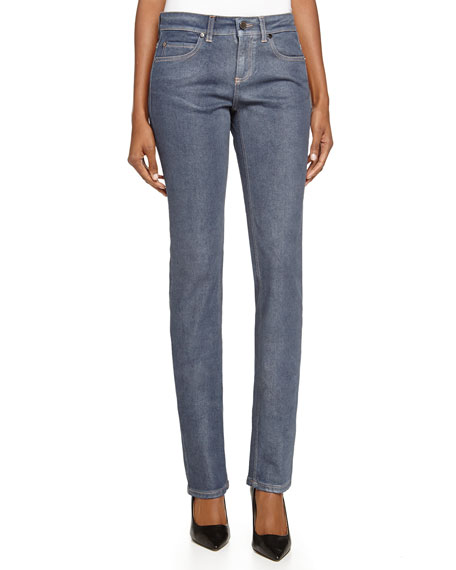 Stella McCartney Straight-Leg Denim Trousers, Blue