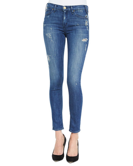 Newton Distressed Skinny Jeans, Vintage Dark