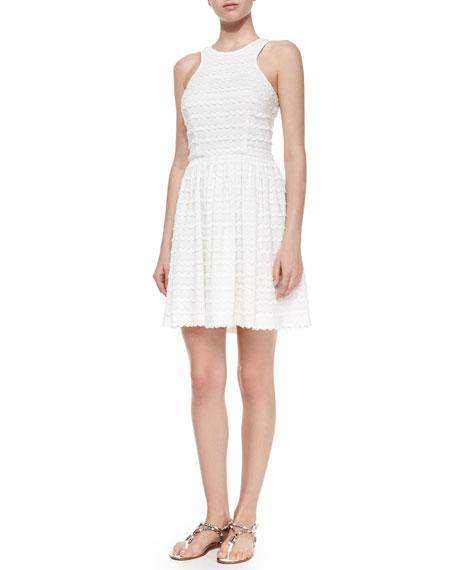 Trina TurkApril Fit & Flare Chevron Dress