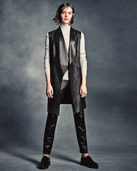 Remmi Long-Sleeve Turtleneck Sweater