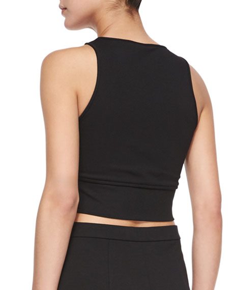 Tenreg Sleeveless Crop Top