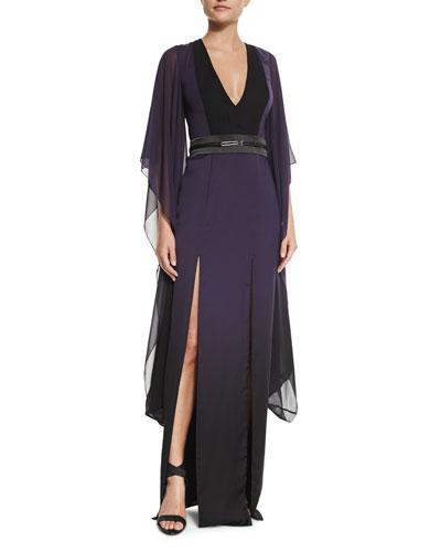 Long Ombre Caftan Dress