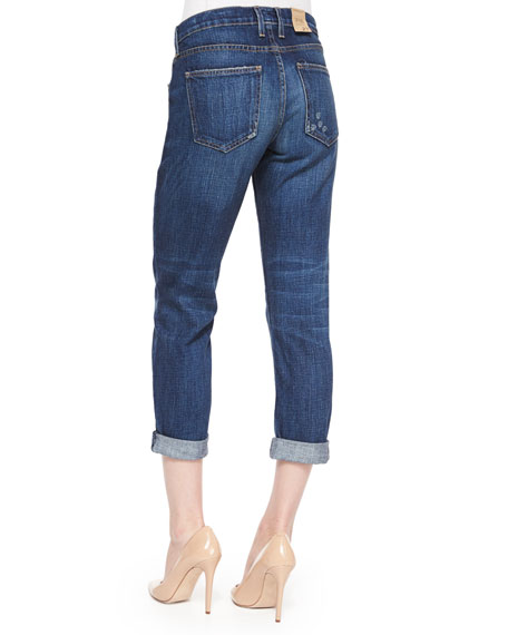 The Fling Cropped Ankle Jeans, Loved